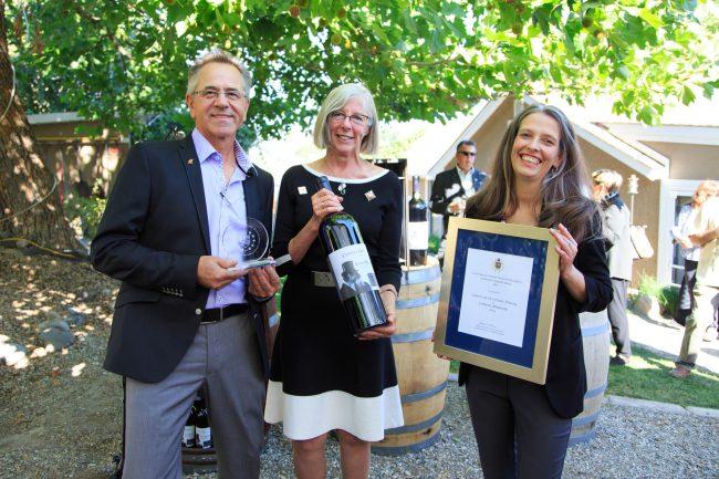 Castoro de Oro Estate Winery, Oliver. Winning wine: Crimson Rhapsody 2014
