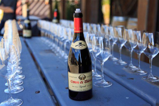 The Hatch Winery, 3225 Boucherie Road, Kelowna Winning Wine: Crown + Thieves The Broken Barrel Syrah 2013