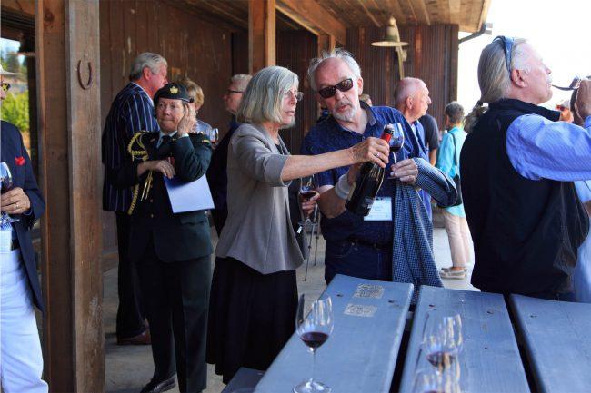The Hatch Winery, Kelowna. Winning Wine: Crown + Thieves The Broken Barrel Syrah 2013